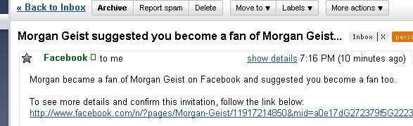 Morgan became a fan of Morgan