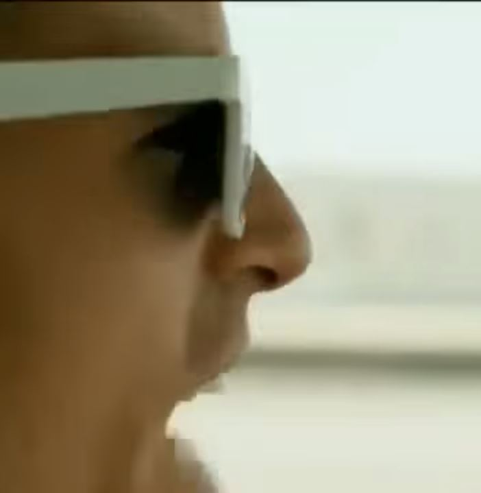 Mr. White Sunglasses